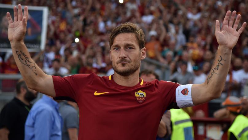 Noticia de último momento 14/02/18 Roma Francesco Totti