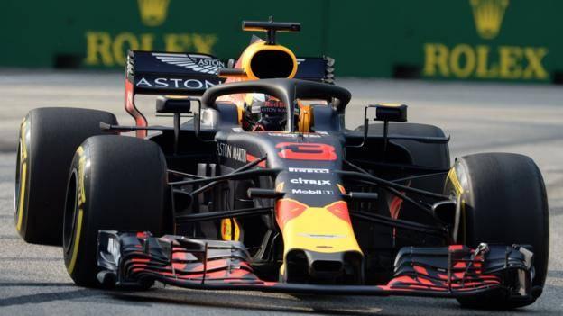 Noticia de hoy 14/09/18 Singapur. Daniel Ricciardo