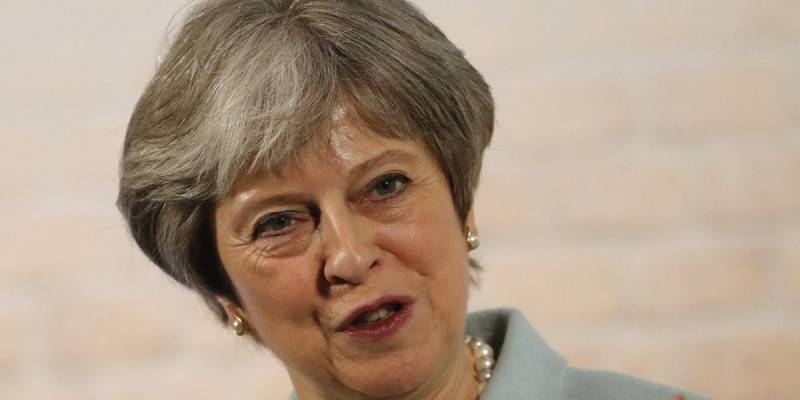Noticia en directo 06/03/18  Theresa May