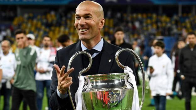 Noticia hispanas 01/06/18  Zinedine Zidane